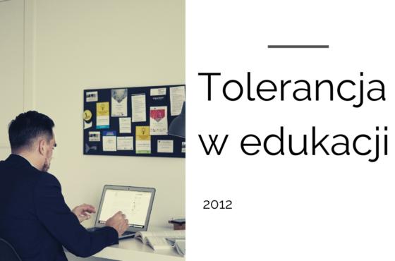 Tolerancja w edukacji