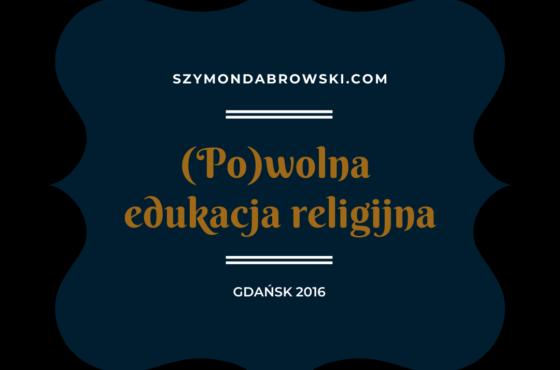Slow edukacja religijna