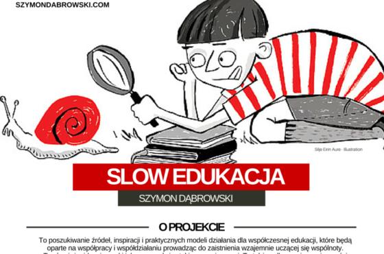 Slow edukacja – Plakat